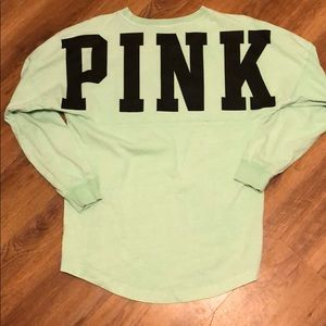 PINK brand tunic campus shirt